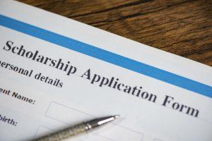 scholarship application form